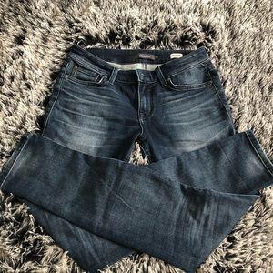 Level 99 Anthropologie skinny jeans size 27 blue